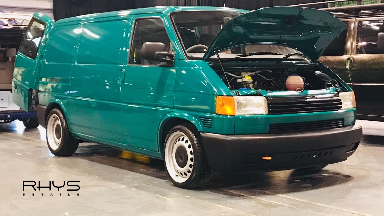 Vw T4 Detailed To Win At Car Shows